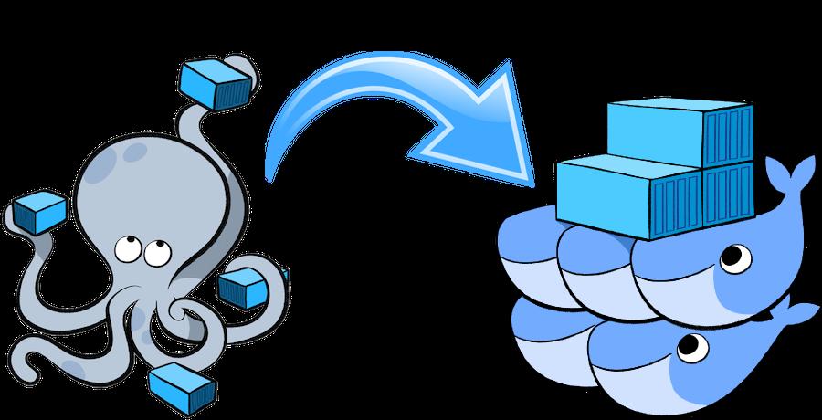 docker microservices illustration